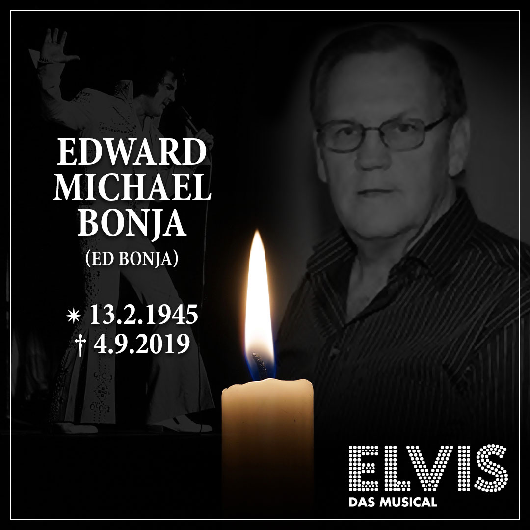 Ed Bonja, Elvis official photographer died in Berlin / Germany